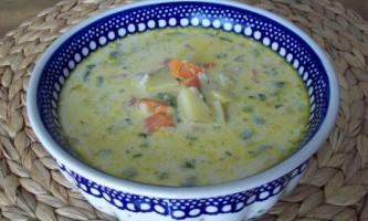 Суп з горбуші - консервованої рецепт