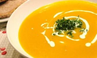 Суп пюре з гарбуза - рецепт