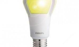 Світлодіодна лампочка, яка працює більше 20 років