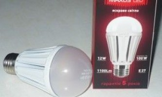 Світлодіодні лампи led: відгуки. Основні параметри