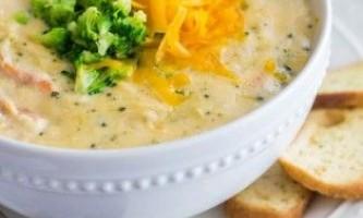Сирний суп - рецепт