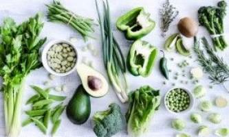 Топ-10 зелених продуктів для стрункості