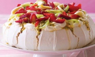 Торт «павлова» рецепт з фото
