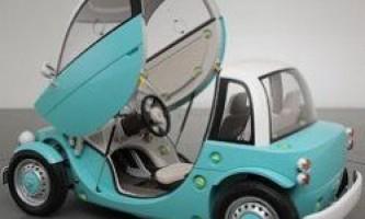 Toyota camatte - автомобіль, яким можуть управляти і діти