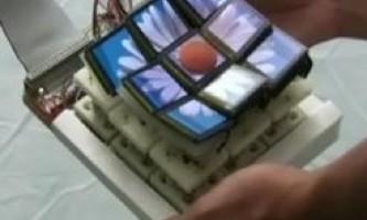 Трансформується 3d-дисплей з декількох панелей