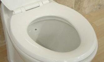 Туалет - одне з найчистіших місць в будинку