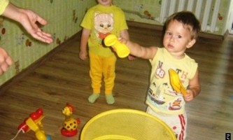 Вчимо жовтий колір з дитиною