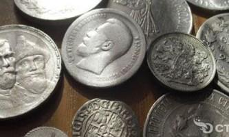 Вчимося чистити монети