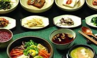Дивовижні страви з кореї
