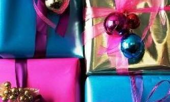 Упаковка для подарунків своїми руками