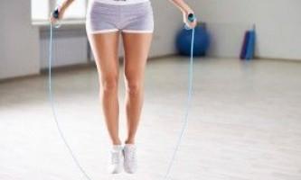 Вправи зі скакалкою для схуднення