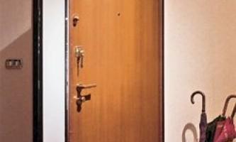 Установка вхідних металевих дверей