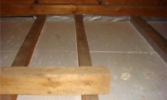 Утеплення даху лазні: покрокова інструкція