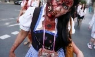 В америці пройшов парад зомбі