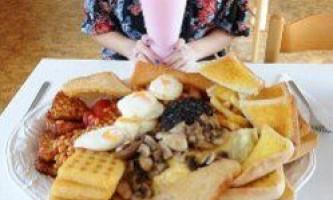 В англії пропонують вбивчий сніданок на 8 000калорій