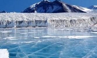 В антарктиді знайшли кратер
