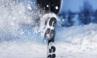 В якому взутті бігати взимку?