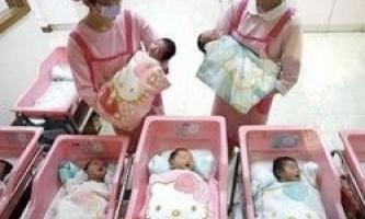 В китаї смертність новонароджених знизилася удвічі, завдяки кампанії з пропаганди госпітальних пологів