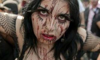У мексиці пройшов найбільший в світі парад зомбі