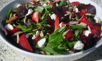Весняні салати - рецепти з фото