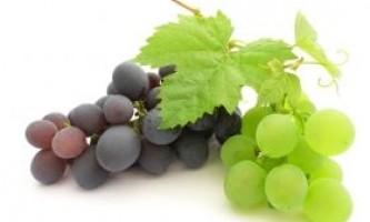 Виноград - корисний і смачний