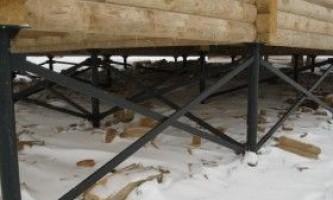 Гвинтовий фундамент для лазні: технологія будівництва