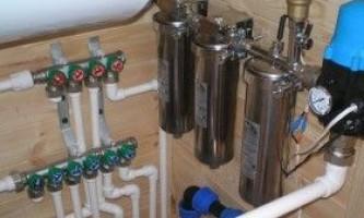 Водопостачання лазні: види і монтаж