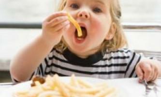 Шкідлива їжа отупляє дітей!