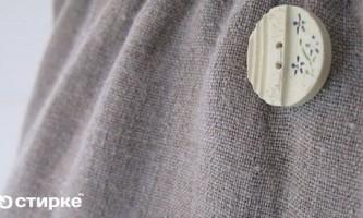 Всі тонкощі прання речей і одягу з натурального льону