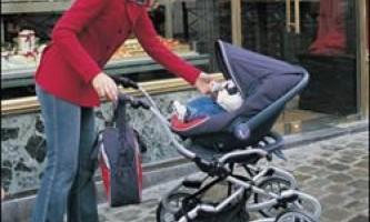 Вибираємо дитячу коляску