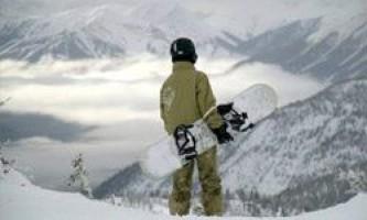 Вибираємо сноуборд під себе