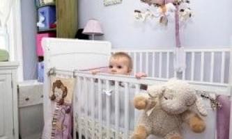 Вибір дитячих меблів для малюка