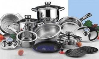 Вибір кухонного посуду