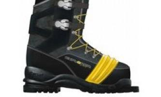 Вибір лижних кріплень і черевик