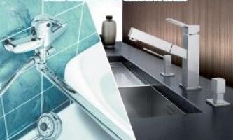 Заміна змішувача на кухні та у ванній