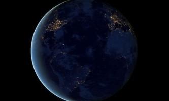 Земля вночі