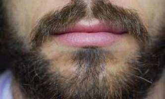 Жінки не люблять бороди