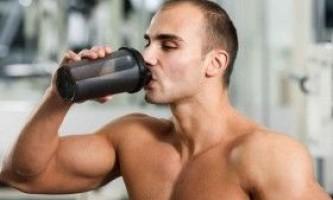 Рідкі харчові добавки в спорті